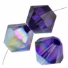 Aurora Borealis Purple Velvet
